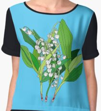 Lilly of the Valley Women's Chiffon Top