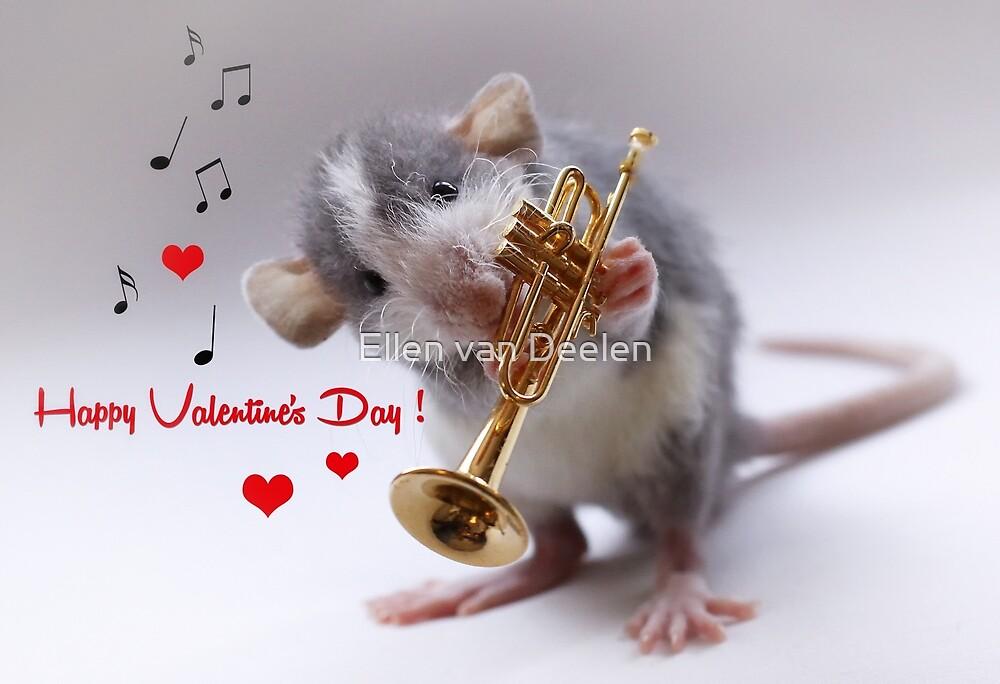 Happy Valentine's Day! by Ellen van Deelen