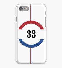 Max Verstappen - #33 iPhone Case/Skin