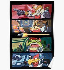 Star Muppets Fox Poster