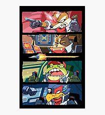 Star Muppets Fox Photographic Print