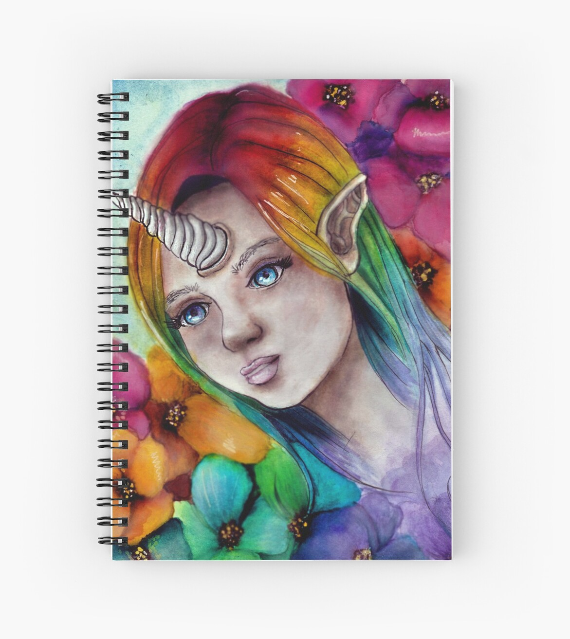 Rainbow Unicorn Lady  by 7dunicornlady
