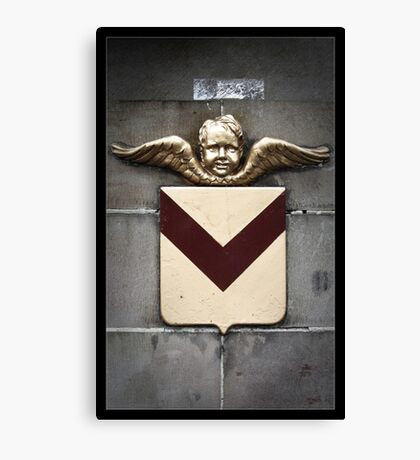 Newport Cherub Canvas Print