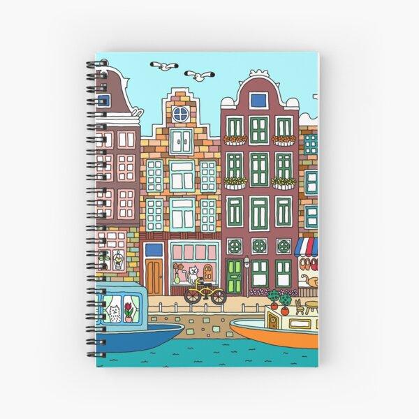 Amsterdam Spiral Notebook