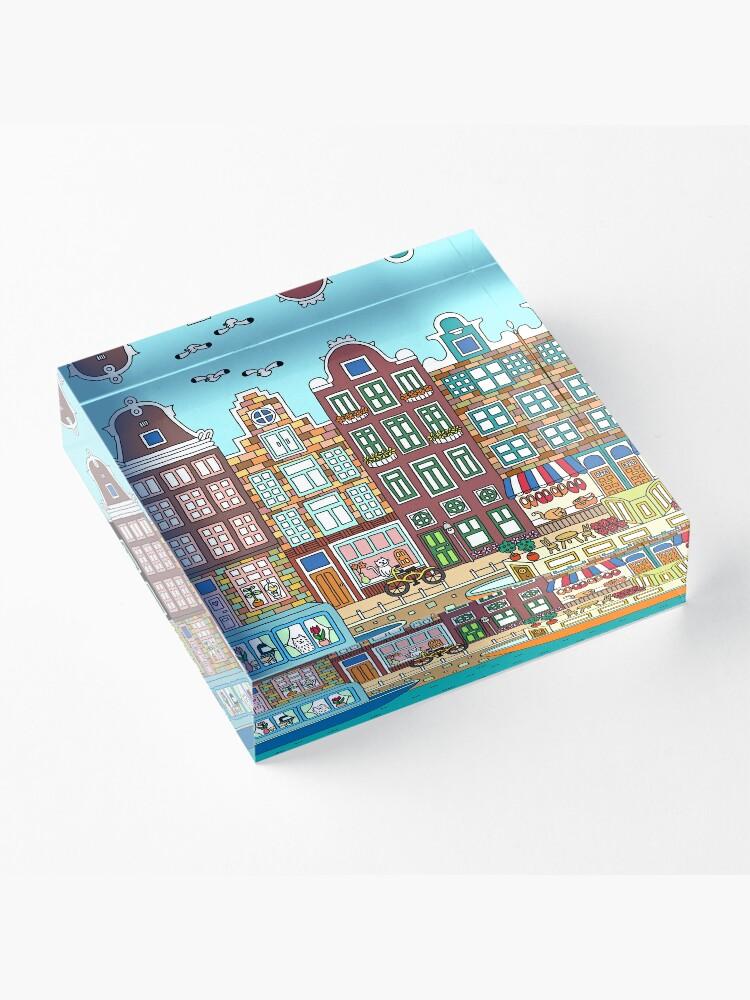Alternate view of Amsterdam Acrylic Block