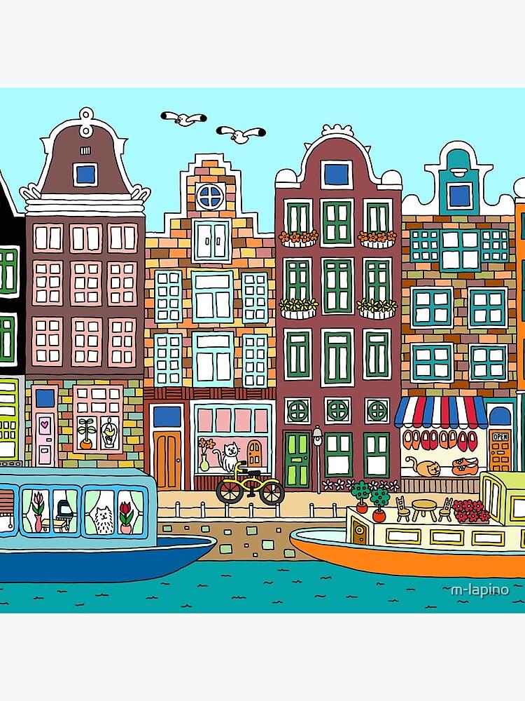Amsterdam by m-lapino