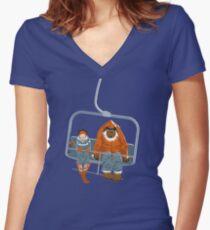 YETI Women's Fitted V-Neck T-Shirt