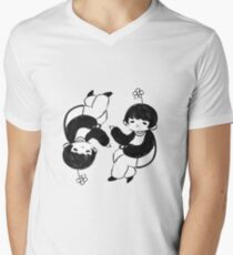 Castor and Pollen  Men's V-Neck T-Shirt