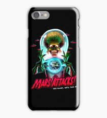 Mars Atacks Poster iPhone Case/Skin