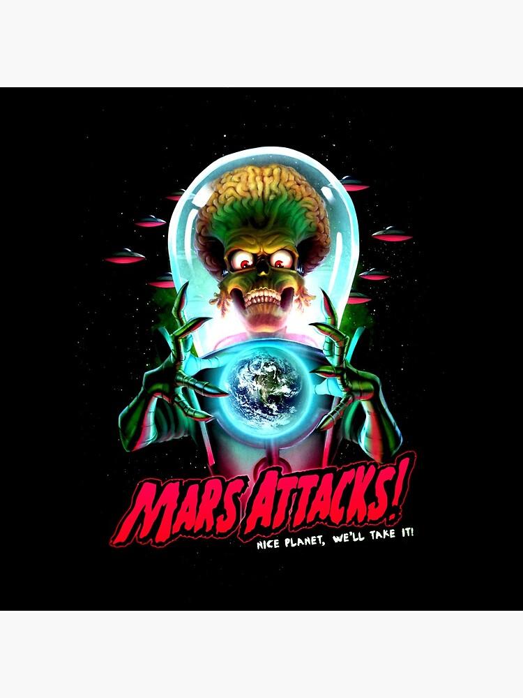 Mars Atacks Poster by UnconArt
