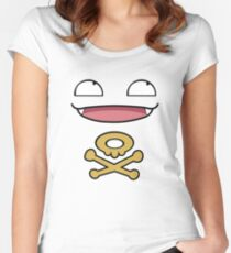 Koffing Love  Women's Fitted Scoop T-Shirt