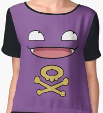 Koffing Love  Chiffon Top