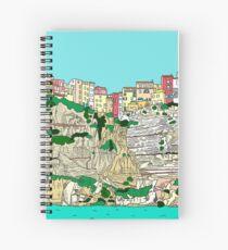 Bonifacio in Corsica Spiral Notebook