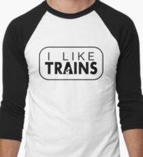 I like trains a lot T-Shirt