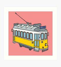Hello from Lisbon Art Print