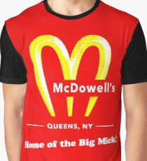 Coming To America - McDowells Resturant Graphic T-Shirt