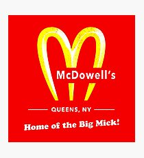Coming To America - McDowells Resturant Photographic Print