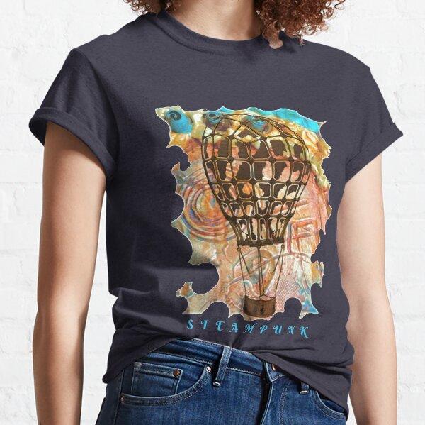 STEAMPUNK AIRSHIP BALLOON Classic T-Shirt