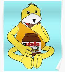 Flat E Nutella Therapy Poster