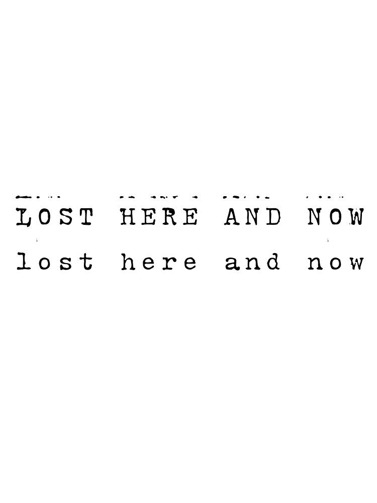 lost here and now by iamGenna