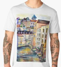 The Old Town in Stockholm Men's Premium T-Shirt