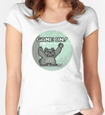 Game on! Women's Fitted Scoop T-Shirt