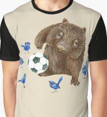 Wrens football Wombat Graphic T-Shirt