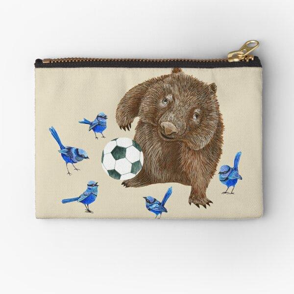 Wrens football Wombat Zipper Pouch