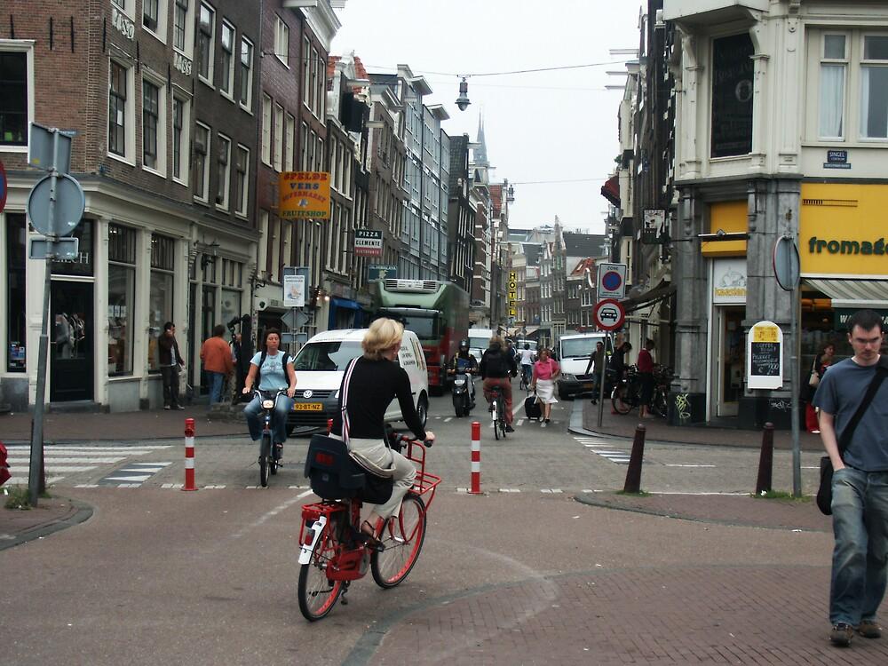 Amterdam city street by Van Deman Design