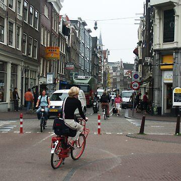 Amterdam city street by vddesign