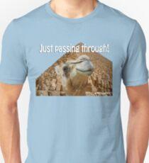 Just Passing Through Unisex T-Shirt