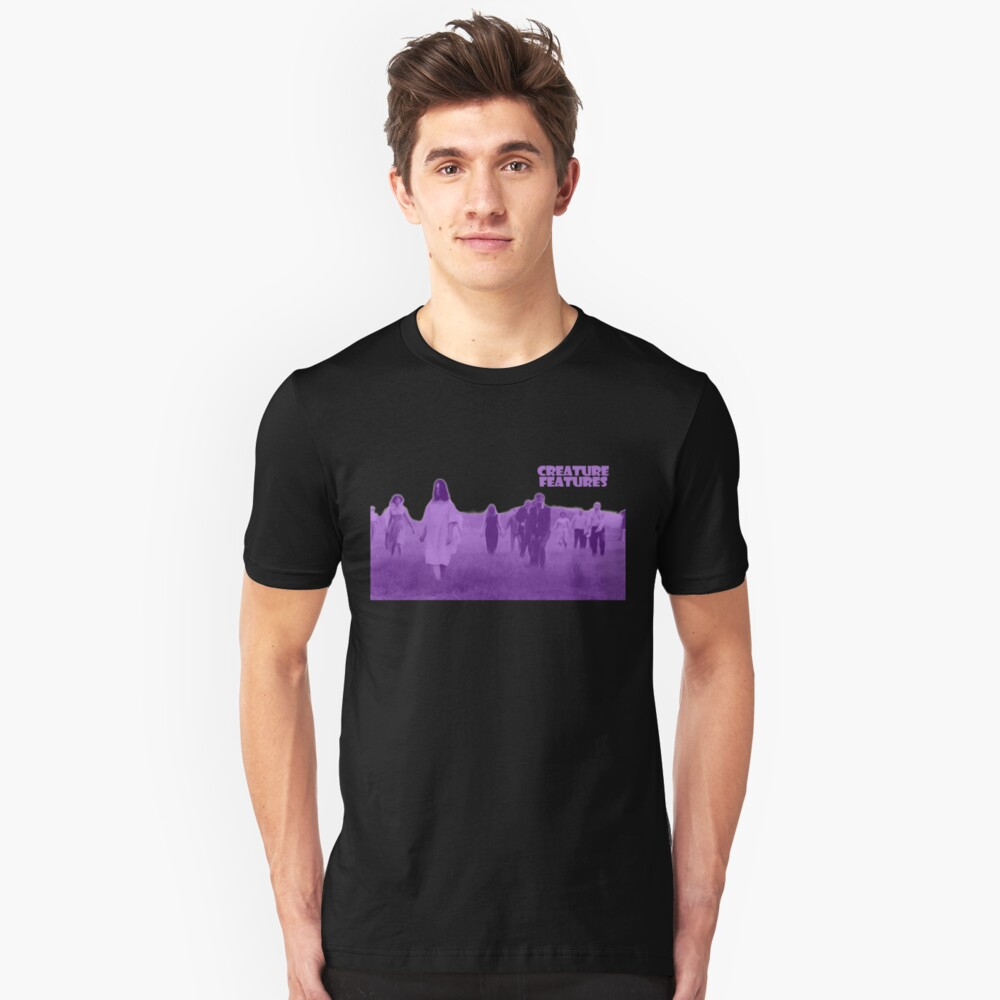 Night of the Living Dead Zombies Unisex T-Shirt Front