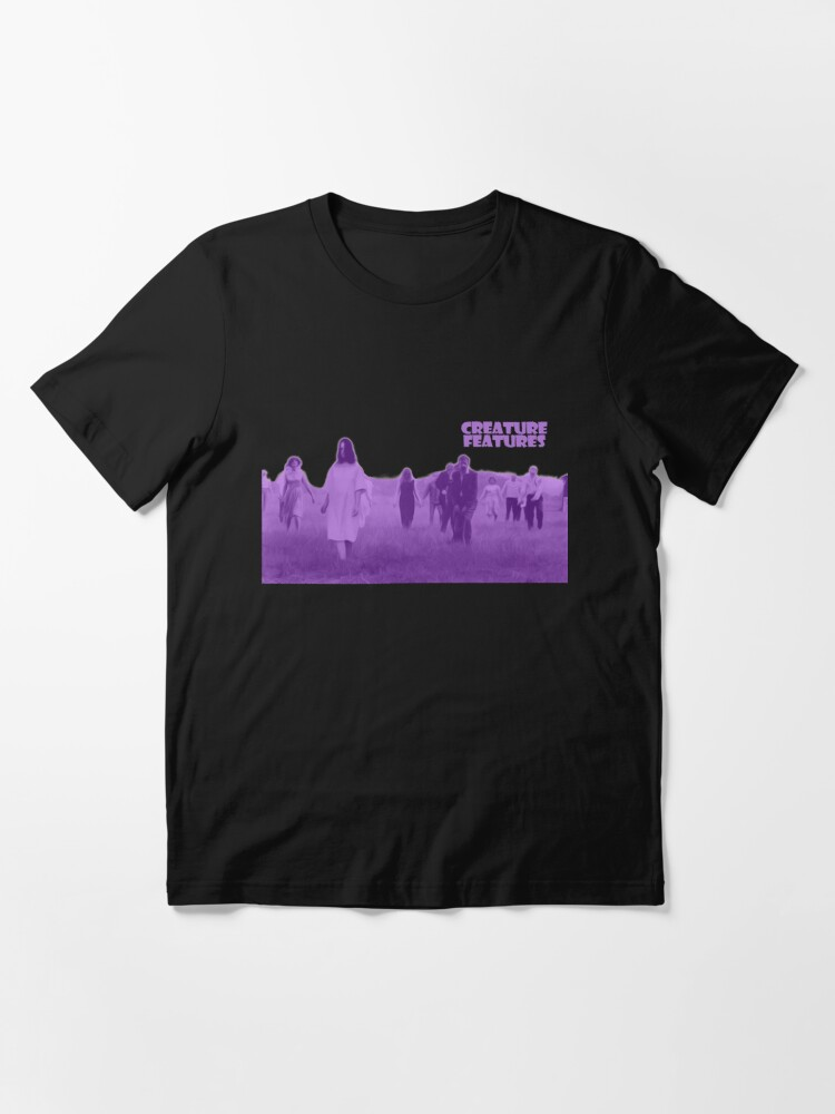 Alternate view of Night of the Living Dead Zombies Essential T-Shirt