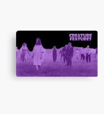 Night of the Living Dead Zombies Canvas Print