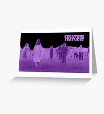 Night of the Living Dead Zombies Greeting Card
