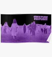 Night of the Living Dead Zombies Poster