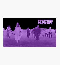 Night of the Living Dead Zombies Photographic Print