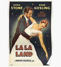 La La Land - Movie Style Poster Poster