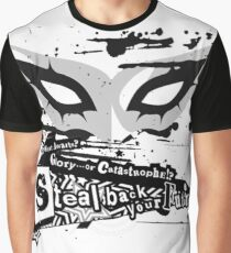 Joker Mask Graphic T-Shirt