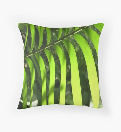 FernLite Throw Pillow