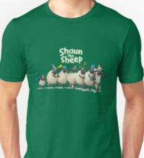 Shaun The Sheep  cartoon's movie picture T-Shirt