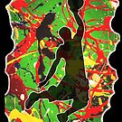 SLAM DUNK BASKETBALL PLAYER by Nicola Furlong