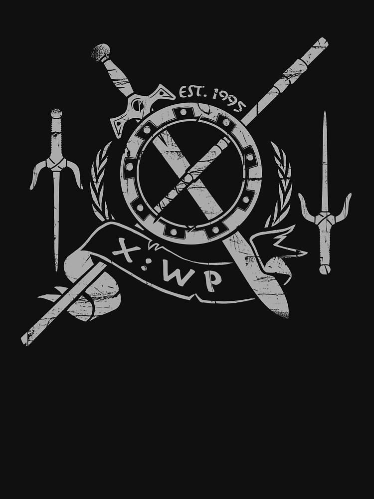 TShirtGifter presents: Xena Warrior Princess Shirt - Black | Unisex T-Shirt