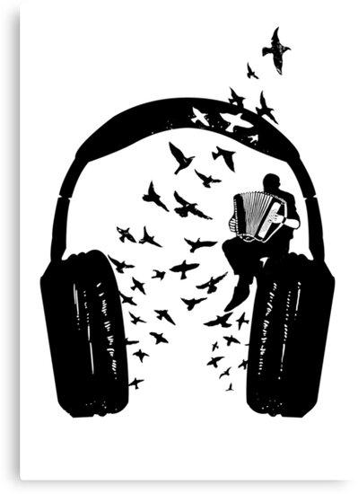 Headphone - Accordion by barmalisiRTB