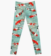 Das Ballett des Carpes Koi Leggings