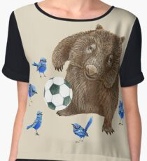 Wrens football Wombat Chiffon Top