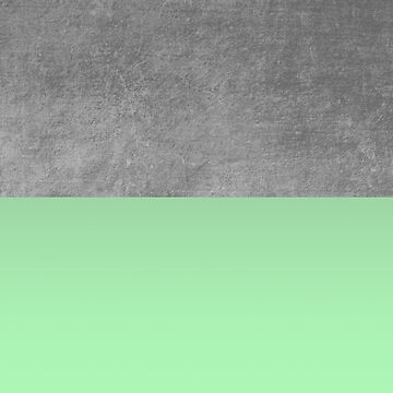 Concrete and Mint Color Block  by modoki
