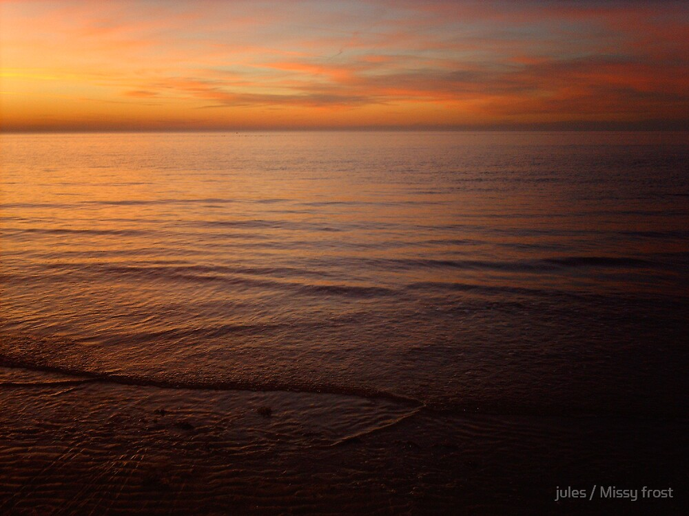 Hunstanton The ripples  by jules / Missy frost