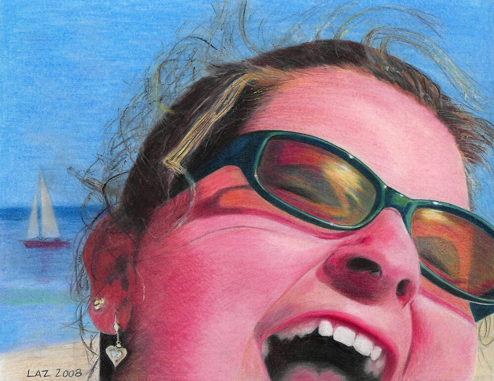 """ BEACH GIRL "" by lazart"