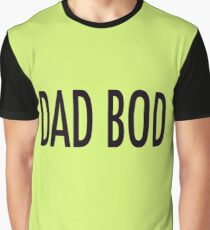 Dad Bod Father's Day Gift Graphic T-Shirt